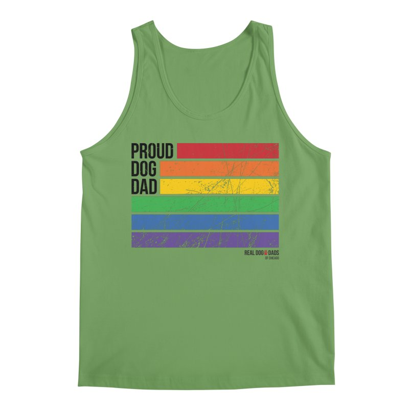 Proud Dog Dad Men's Tank by RDMOC's Artist Shop
