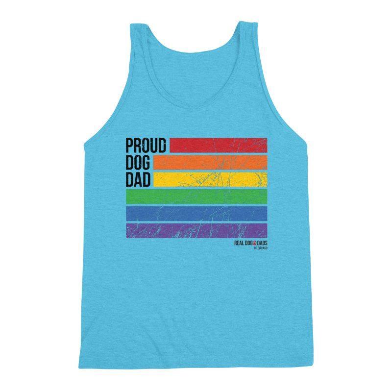 Proud Dog Dad Men's Tank by rdmoc's Artist Shop