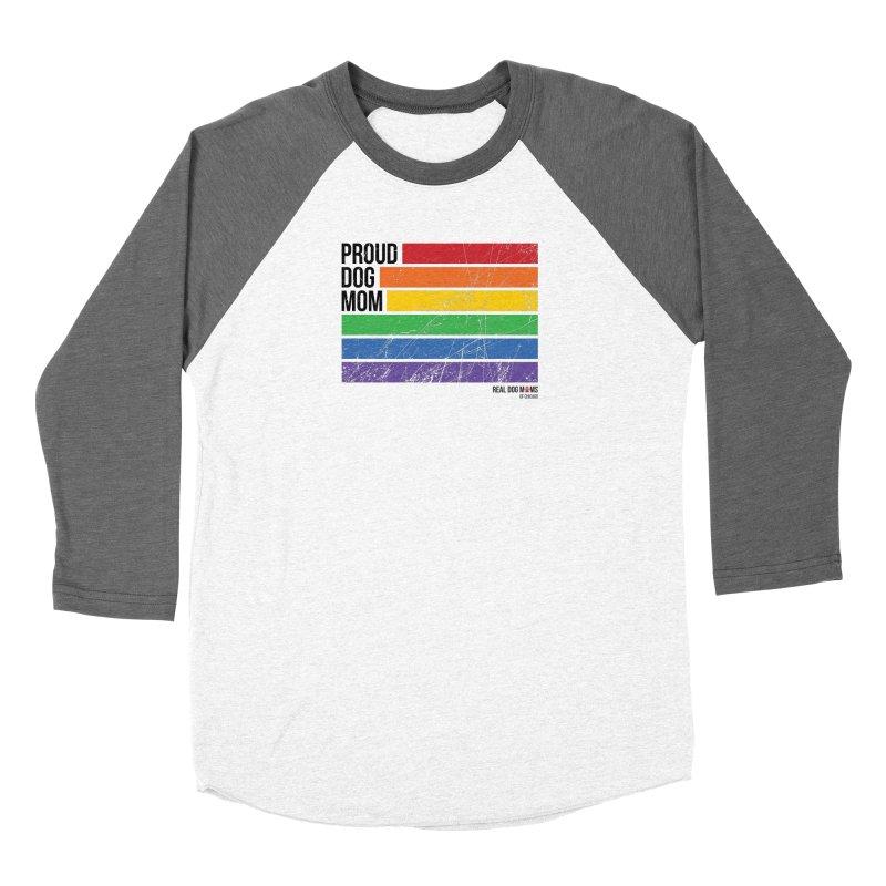 Proud Dog Mom Women's Longsleeve T-Shirt by RDMOC's Artist Shop