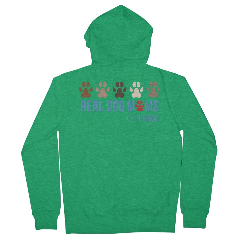 Paws Up Men's Zip-Up Hoody by RDMOC's Artist Shop