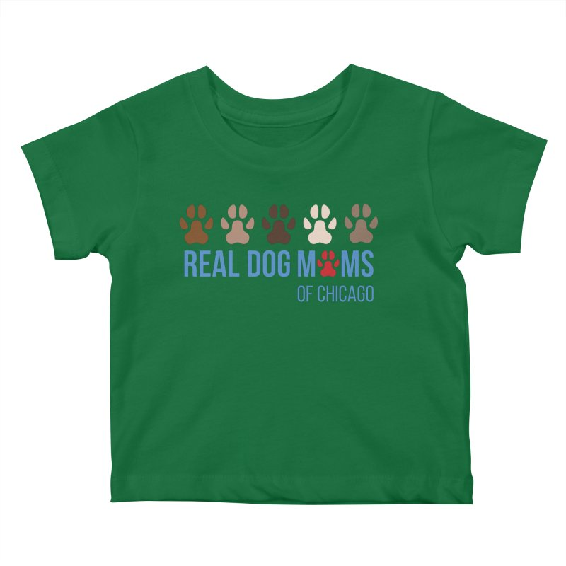 Paws Up Kids Baby T-Shirt by rdmoc's Artist Shop