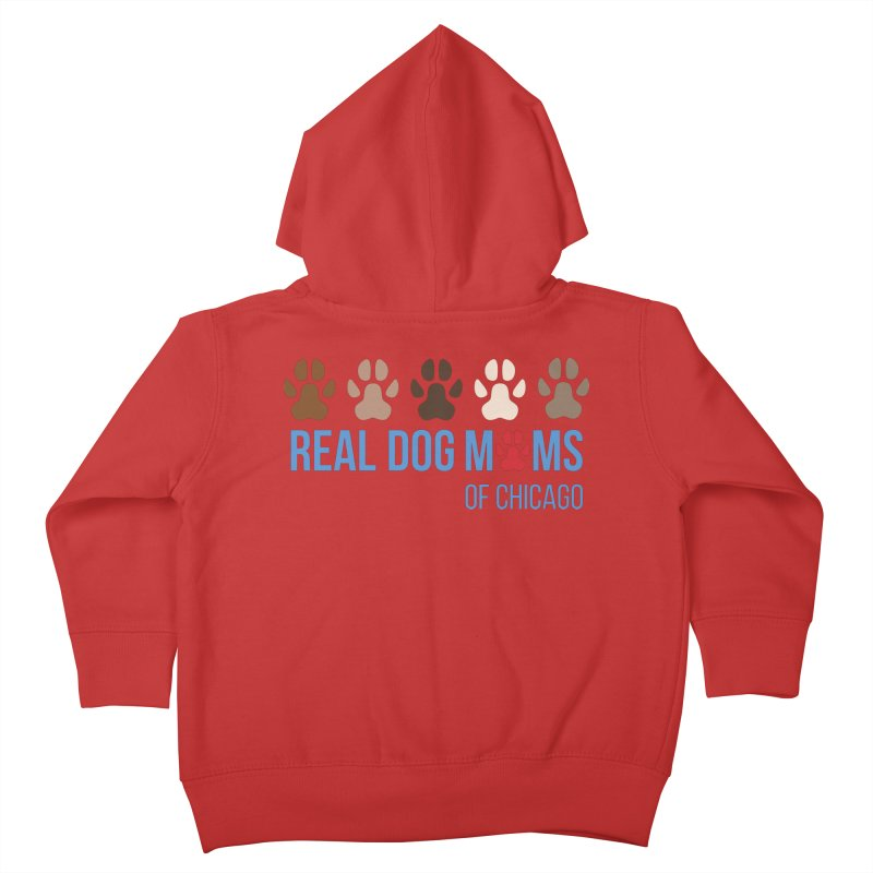 Paws Up Kids Toddler Zip-Up Hoody by rdmoc's Artist Shop