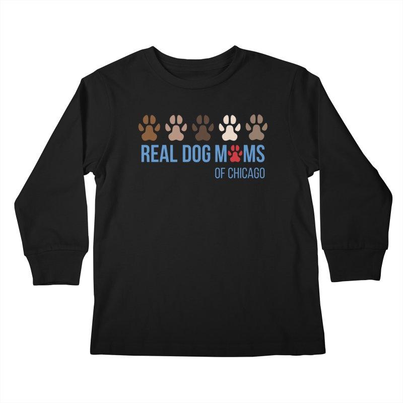 Paws Up Kids Longsleeve T-Shirt by rdmoc's Artist Shop