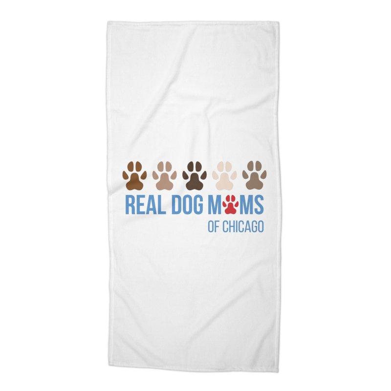 Paws Up Accessories Beach Towel by rdmoc's Artist Shop