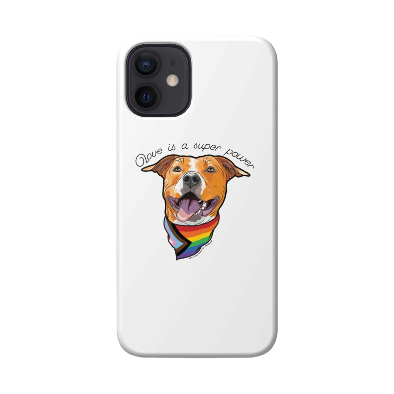 Love is a Super Power Accessories Phone Case by rdmoc's Artist Shop