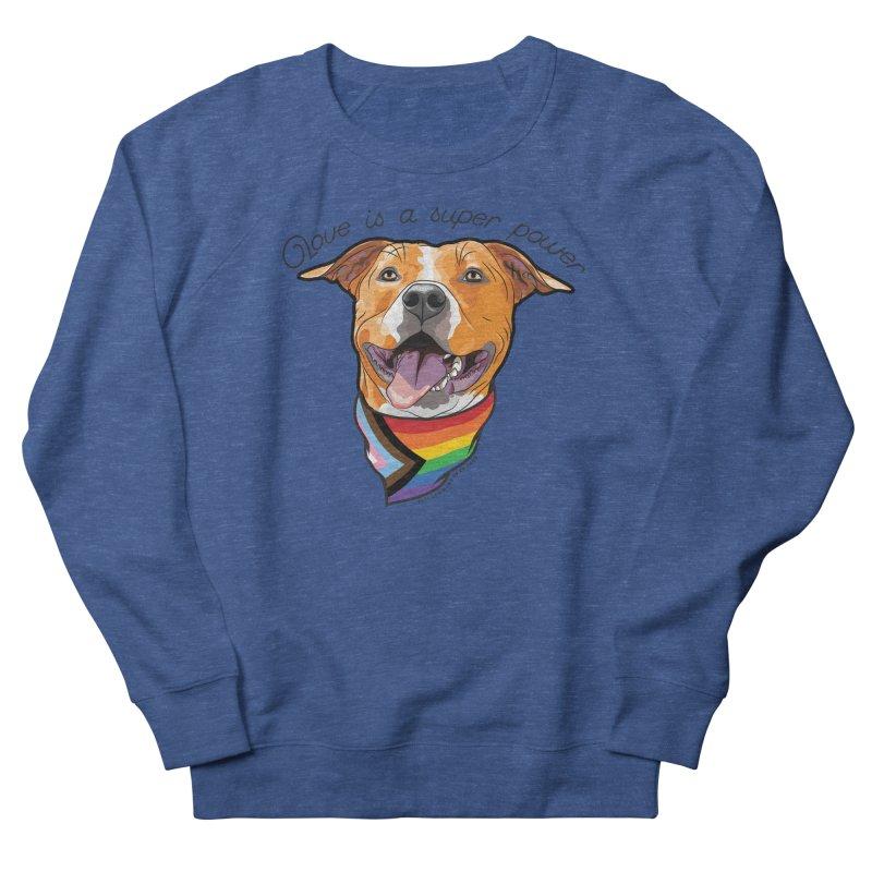 Love is a Super Power Men's Sweatshirt by rdmoc's Artist Shop