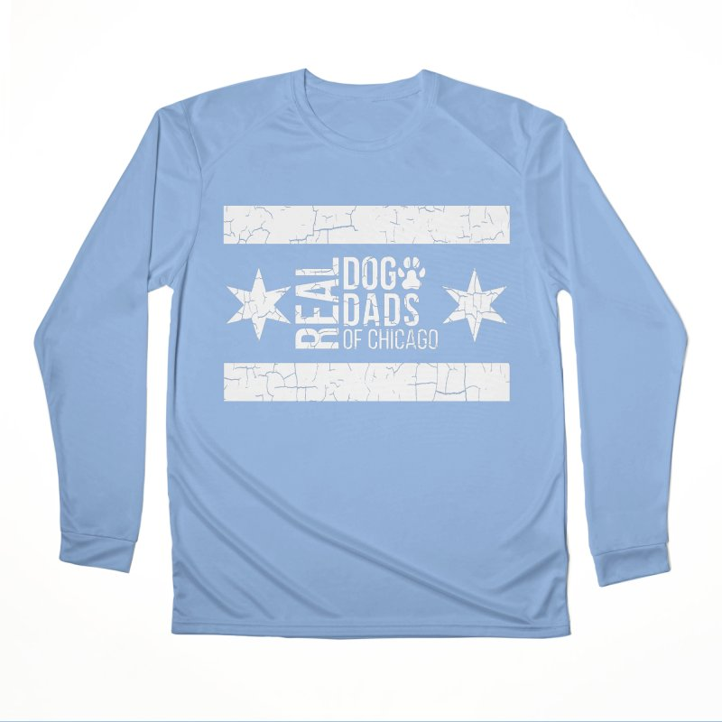 Chicago Dog Dad Women's Longsleeve T-Shirt by rdmoc's Artist Shop