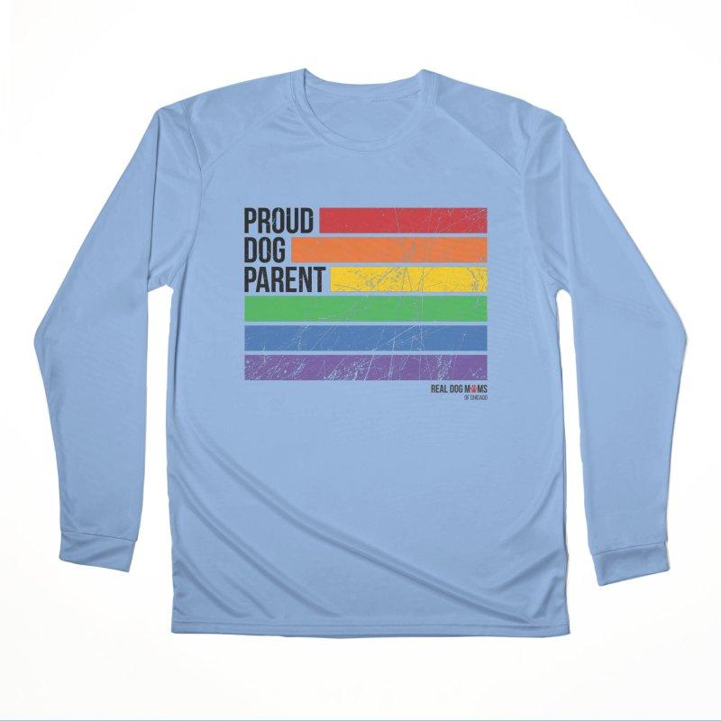 Proud Dog Parent Women's Longsleeve T-Shirt by rdmoc's Artist Shop