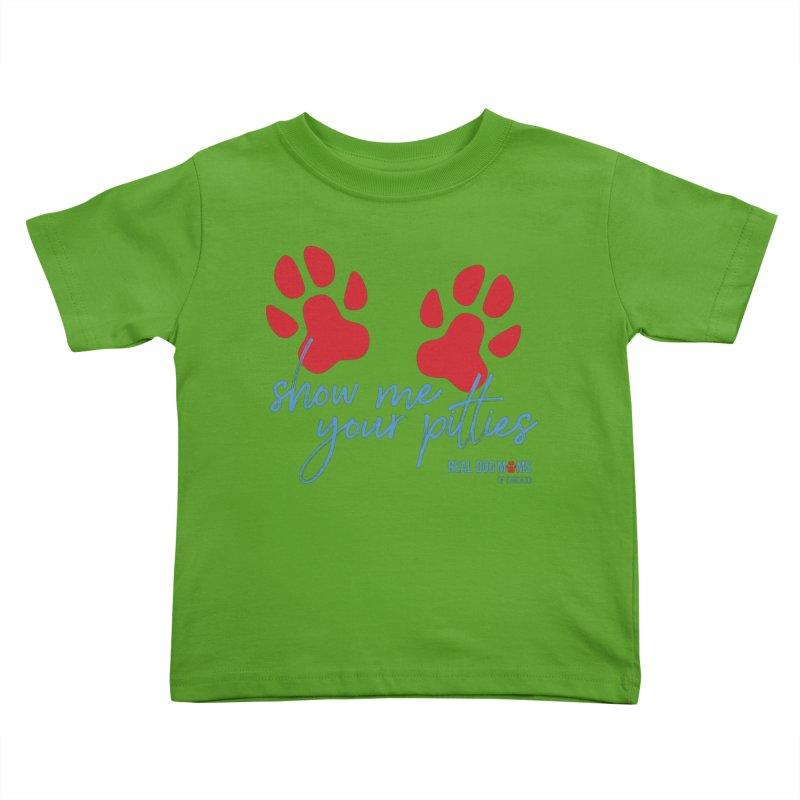 Show Me Your Pitties Kids Toddler T-Shirt by rdmoc's Artist Shop