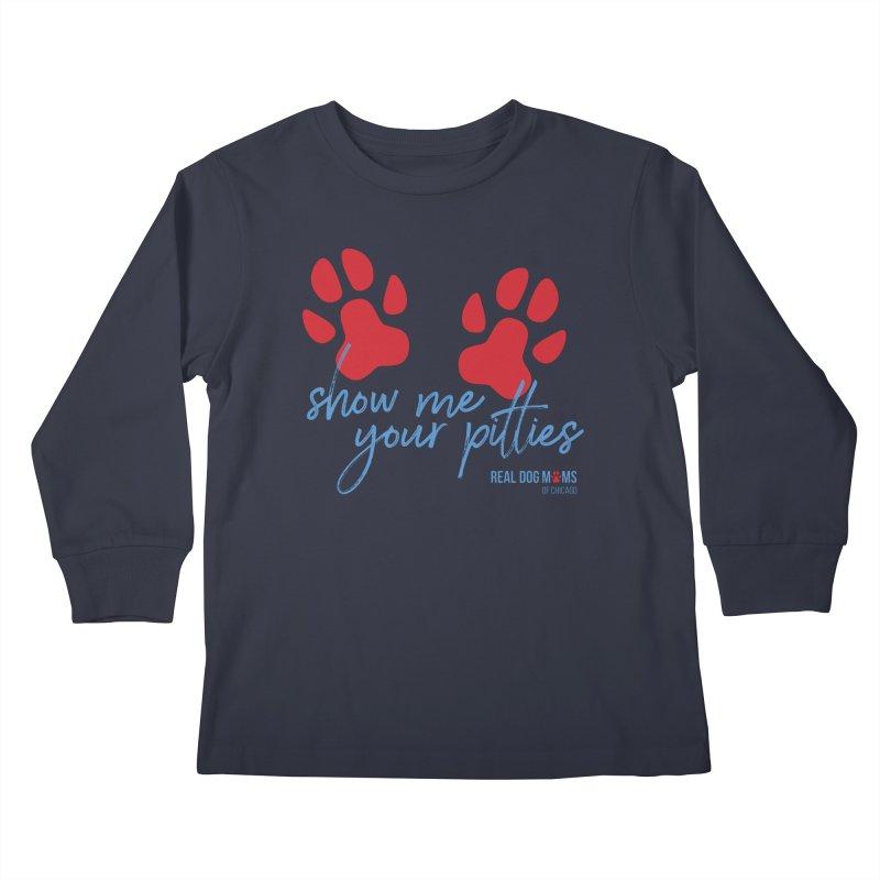 Show Me Your Pitties Kids Longsleeve T-Shirt by rdmoc's Artist Shop