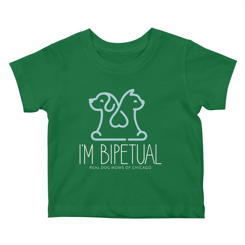 I'm Bipetual Kids Baby T-Shirt by rdmoc's Artist Shop