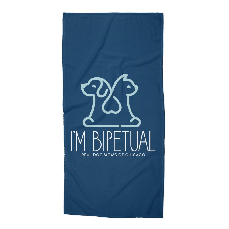 I'm Bipetual Accessories Beach Towel by rdmoc's Artist Shop