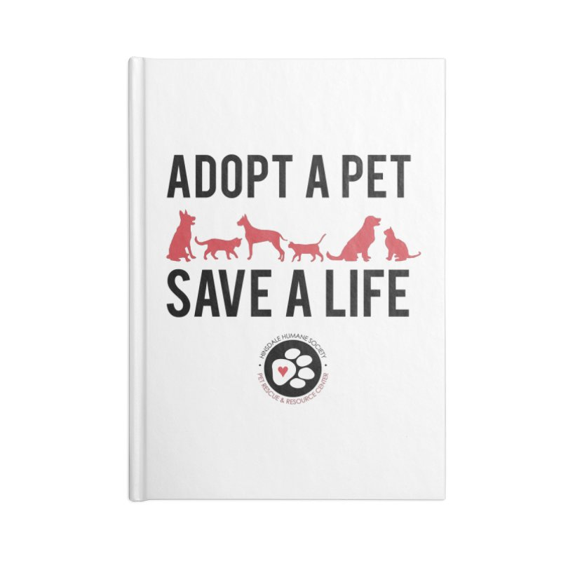 HHS Adopt a Pet Accessories Notebook by rdmoc's Artist Shop