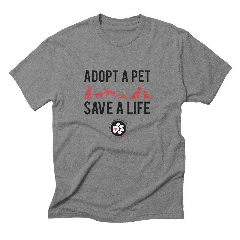 HHS Adopt a Pet Men's T-Shirt by rdmoc's Artist Shop
