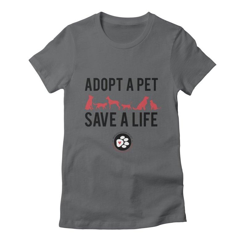 HHS Adopt a Pet Women's T-Shirt by rdmoc's Artist Shop
