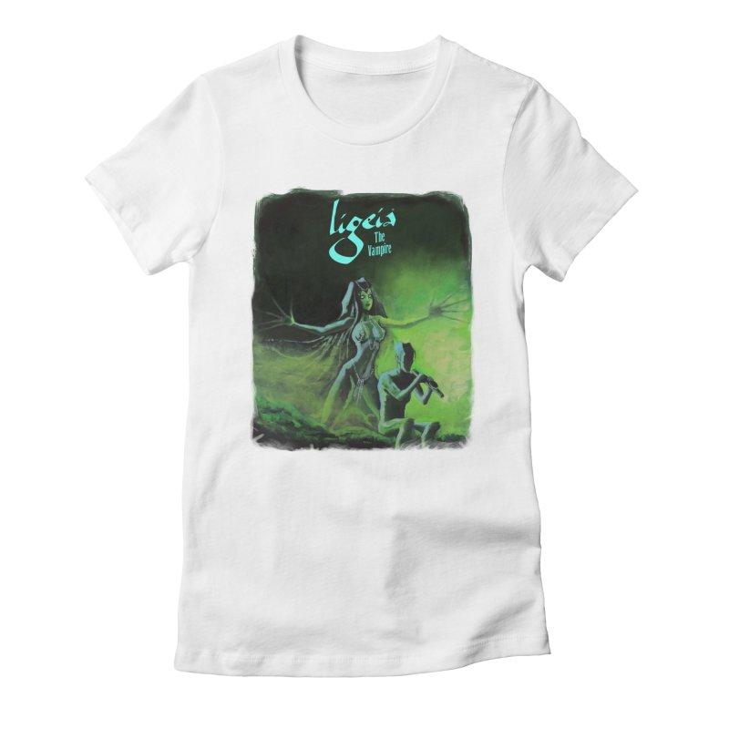 Oblivion's Hotel Women's Fitted T-Shirt by RDRicci's Artist Shop