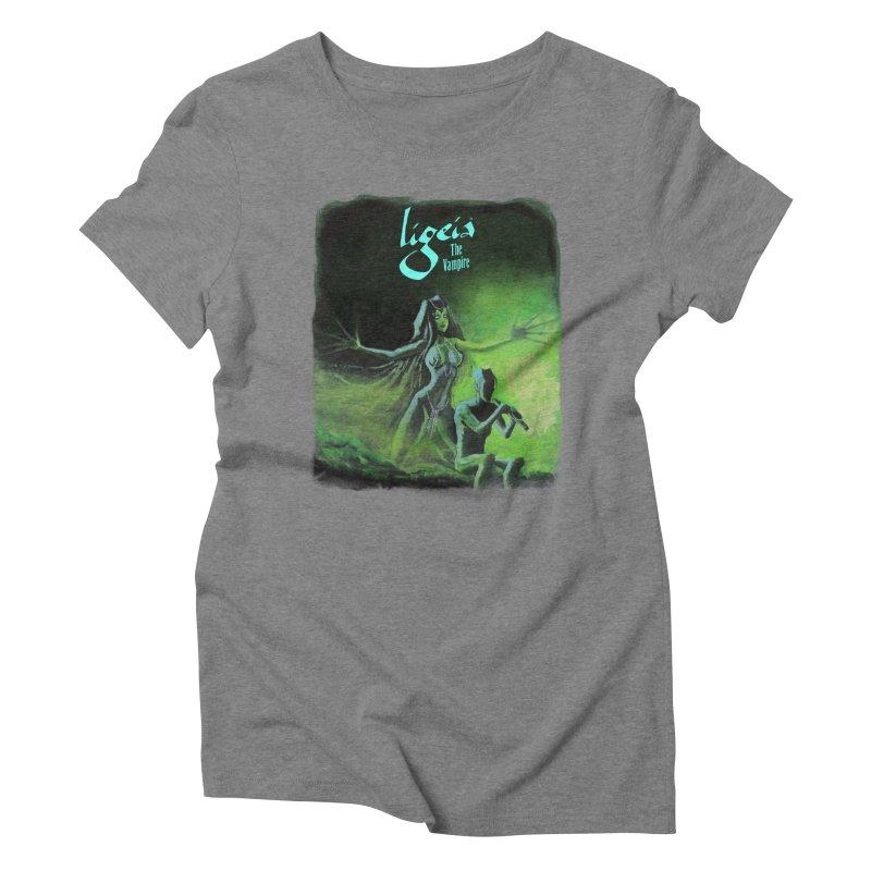 Oblivion's Hotel Women's Triblend T-Shirt by RDRicci's Artist Shop