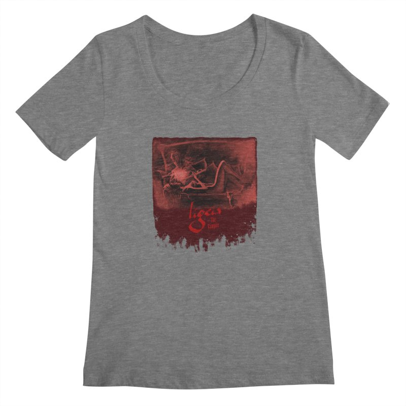 The Antiquarian Women's Scoopneck by RDRicci's Artist Shop