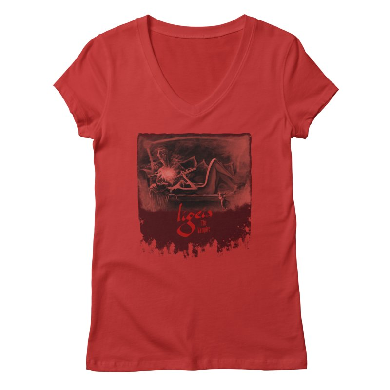 The Antiquarian Women's V-Neck by RDRicci's Artist Shop