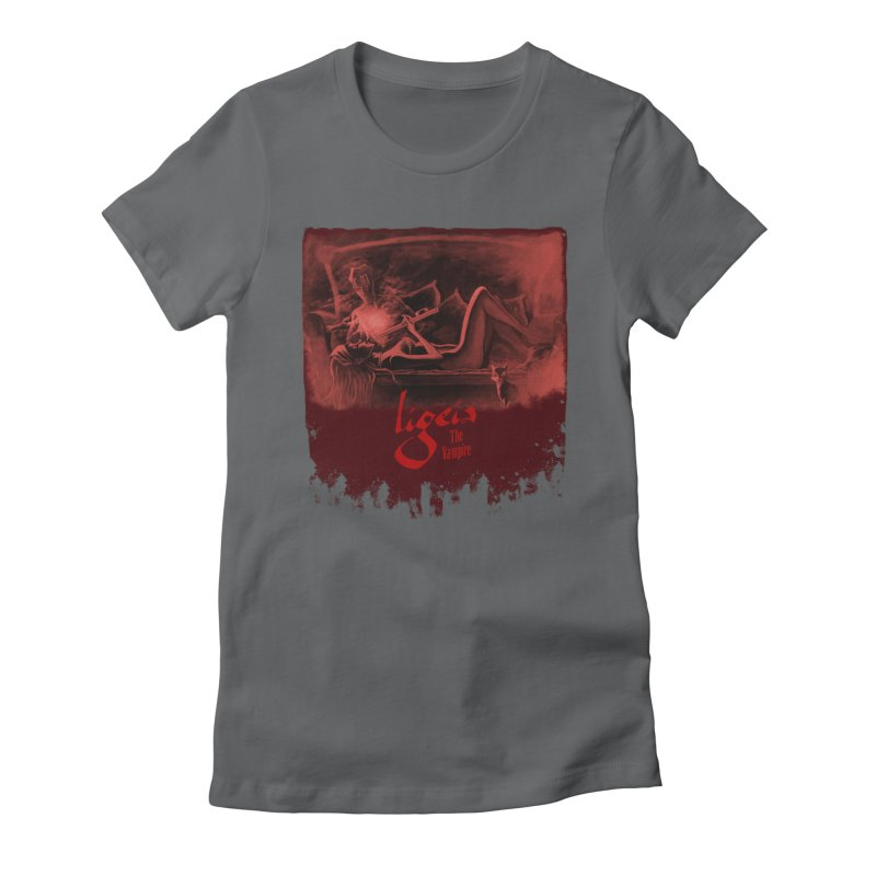 The Antiquarian Women's Fitted T-Shirt by RDRicci's Artist Shop