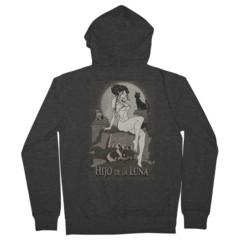 Hijo de la Luna Men's Zip-Up Hoody by RDRicci's Artist Shop