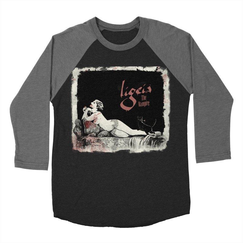 Ligeia the Vampire - 1924 Men's Longsleeve T-Shirt by RDRicci's Artist Shop