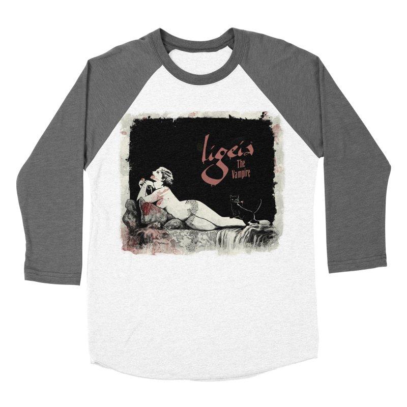 Ligeia the Vampire - 1924 Men's Baseball Triblend T-Shirt by RDRicci's Artist Shop