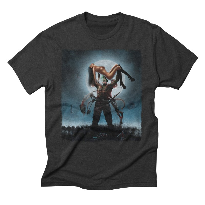 Necrophagus Vampire Lord Men's Triblend T-Shirt by RDRicci's Artist Shop