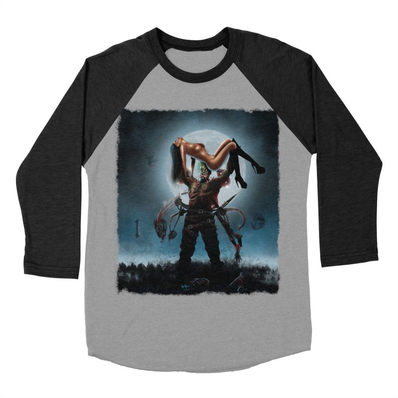 Necrophagus Vampire Lord Women's Baseball Triblend T-Shirt by RDRicci's Artist Shop