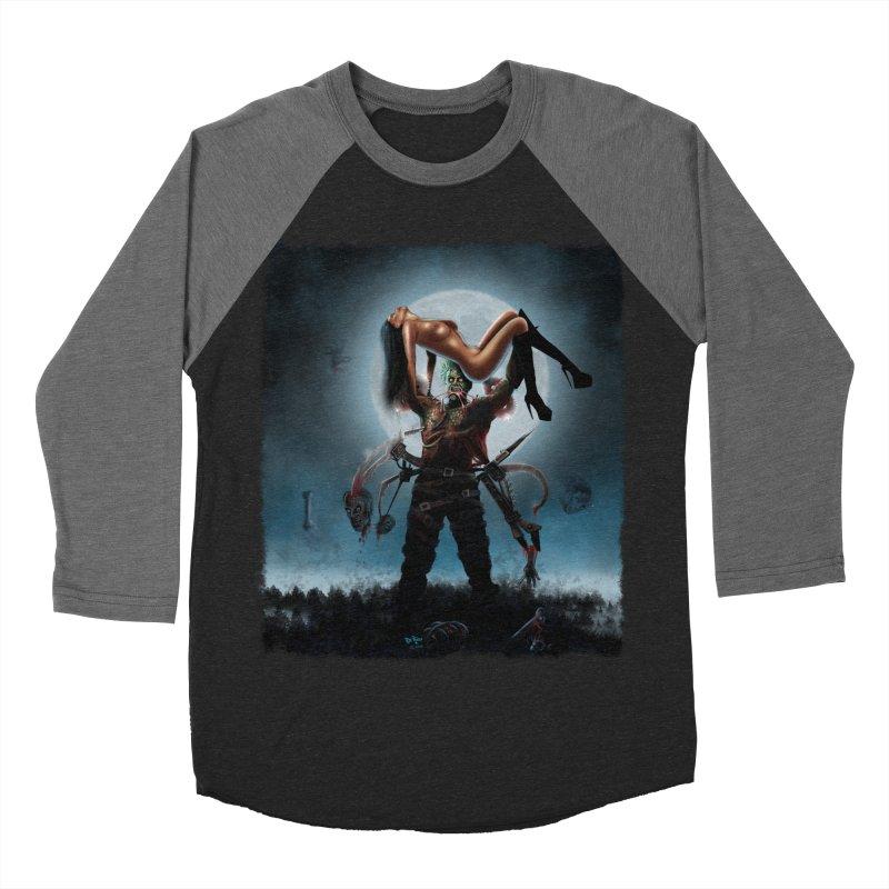 Necrophagus Vampire Lord Men's Baseball Triblend T-Shirt by RDRicci's Artist Shop