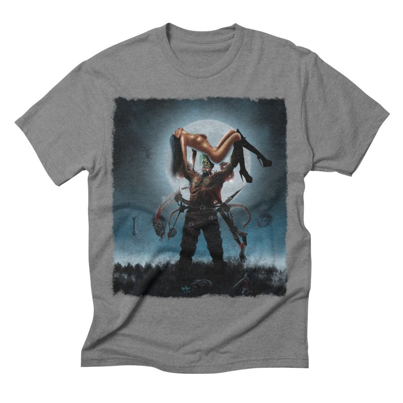 Necrophagus Vampire Lord Men's Triblend T-shirt by RDRicci's Artist Shop