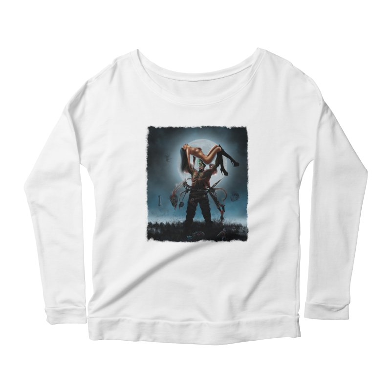 Necrophagus Vampire Lord Women's Longsleeve Scoopneck  by RDRicci's Artist Shop