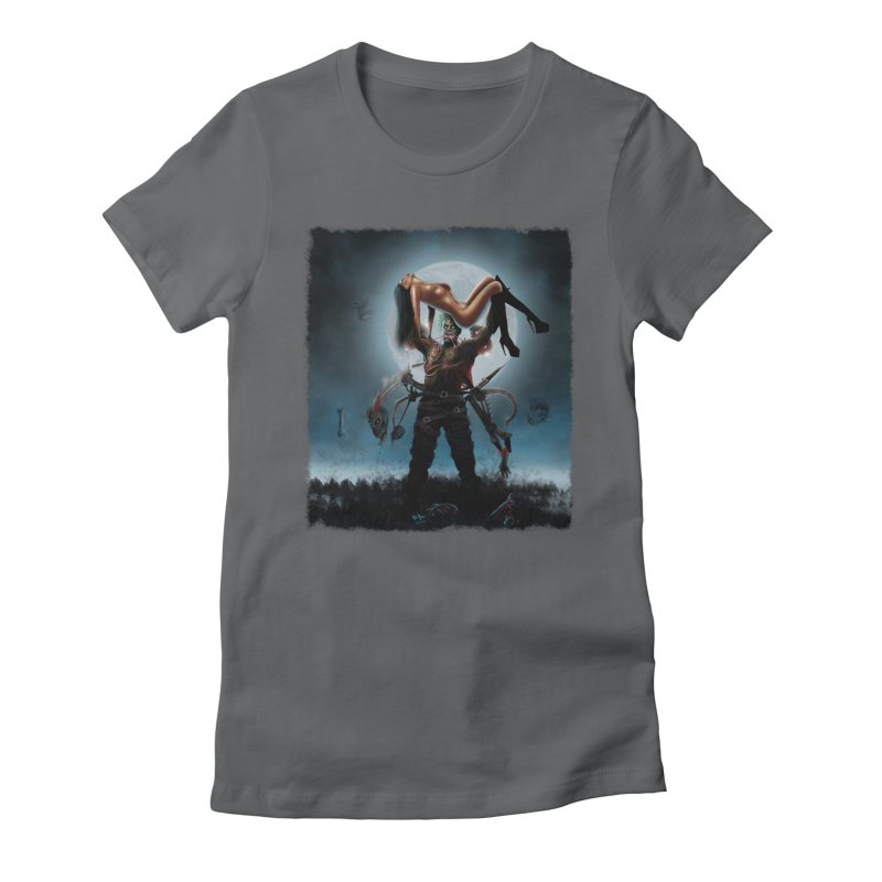 Necrophagus Vampire Lord Women's Fitted T-Shirt by RDRicci's Artist Shop