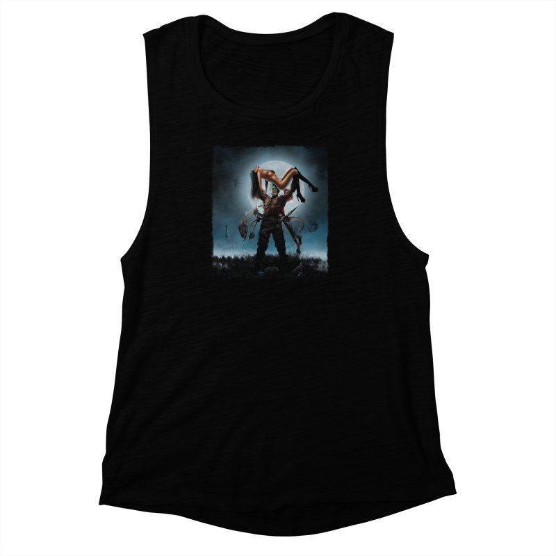 Necrophagus Vampire Lord Women's Muscle Tank by RDRicci's Artist Shop