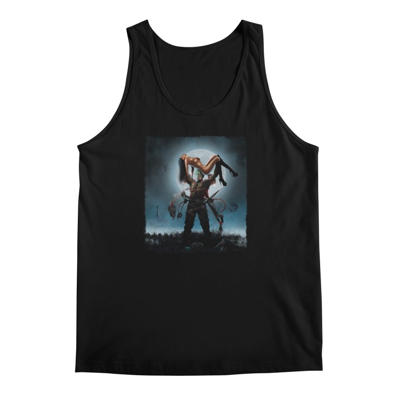 Necrophagus Vampire Lord Men's Tank by RDRicci's Artist Shop