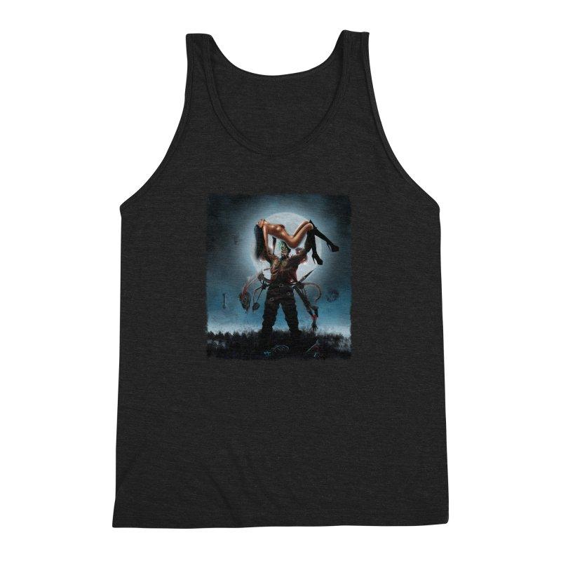 Necrophagus Vampire Lord Men's Triblend Tank by RDRicci's Artist Shop