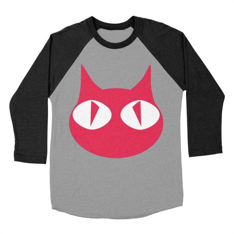 Cat Wave Women's Baseball Triblend T-Shirt by RDRicci's Artist Shop