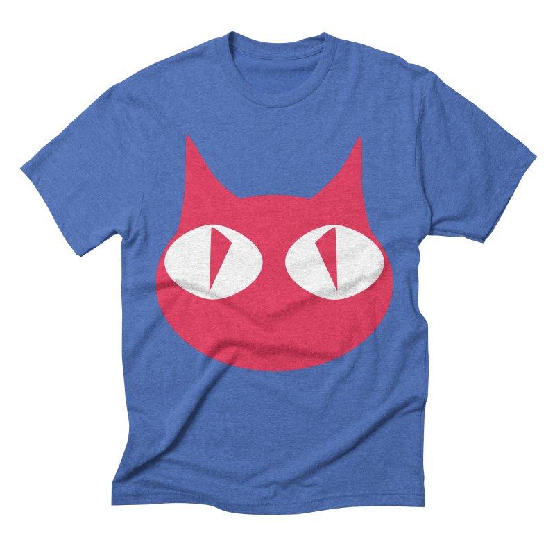 Cat Wave Men's Triblend T-shirt by RDRicci's Artist Shop