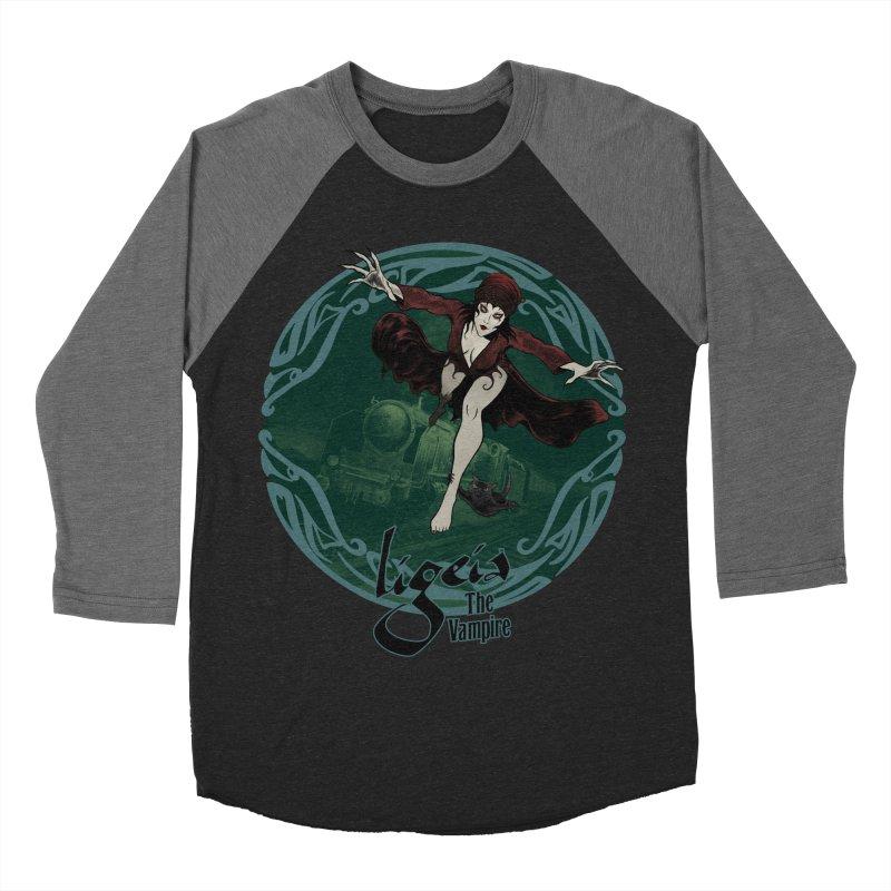 Orient Express Women's Baseball Triblend T-Shirt by RDRicci's Artist Shop