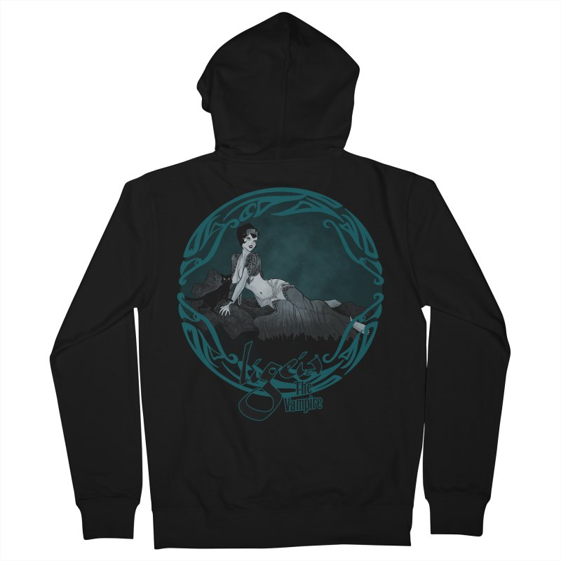Ligeia 1920 Men's Zip-Up Hoody by RDRicci's Artist Shop