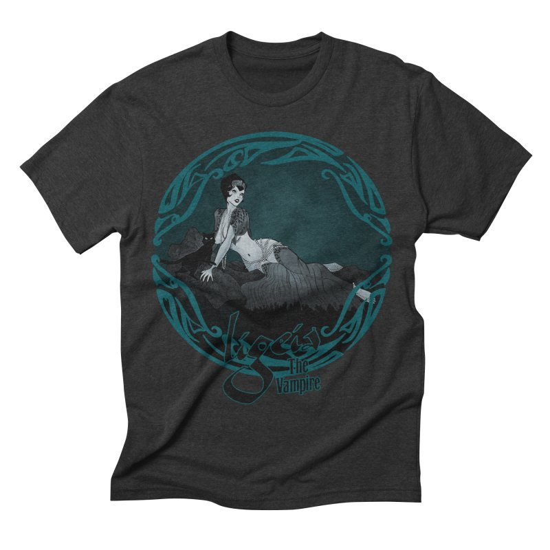 Ligeia 1920 Men's Triblend T-shirt by RDRicci's Artist Shop