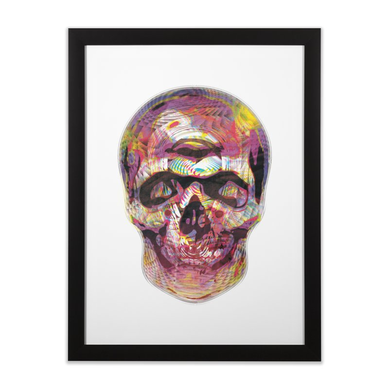 Sharped skull Home Framed Fine Art Print by re3a's Artist Shop