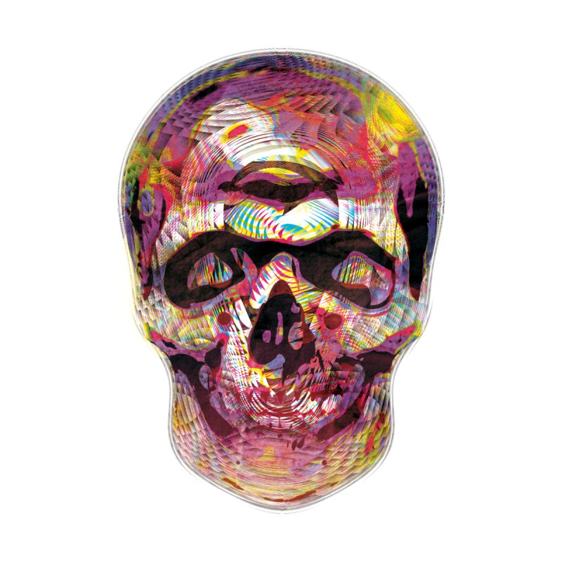 Sharped skull Men's T-Shirt by re3a's Artist Shop