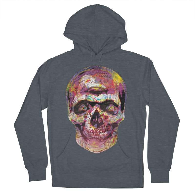 Sharped skull Women's French Terry Pullover Hoody by re3a's Artist Shop