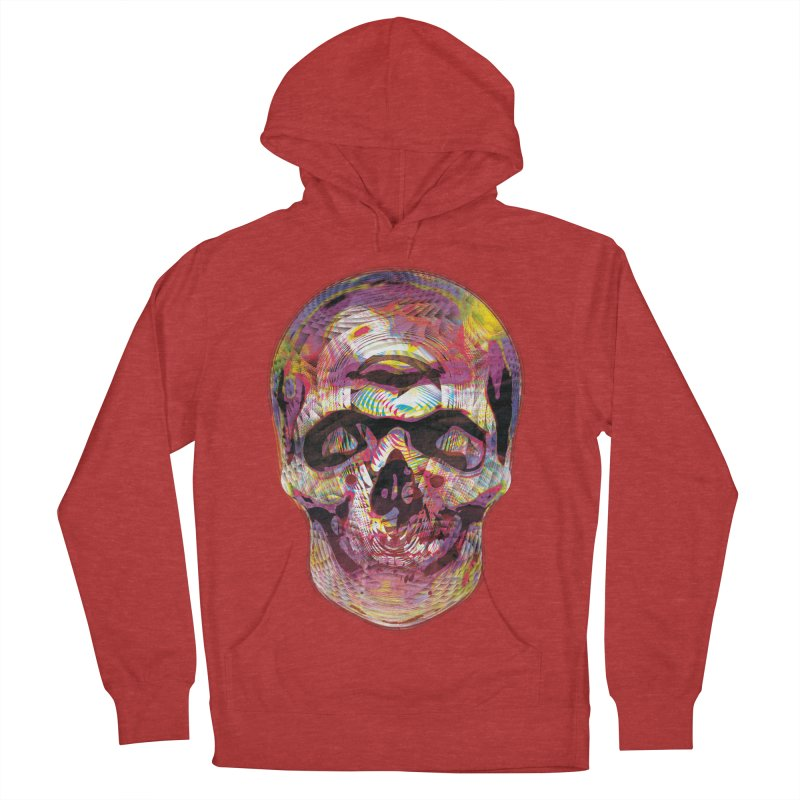 Sharped skull Men's Pullover Hoody by re3a's Artist Shop