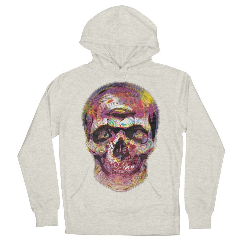 Sharped skull Men's Pullover Hoody by re3a's Artist Shop