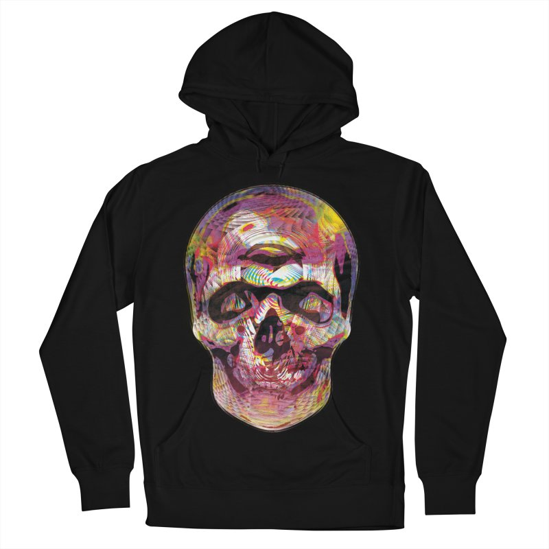 Sharped skull Men's French Terry Pullover Hoody by re3a's Artist Shop