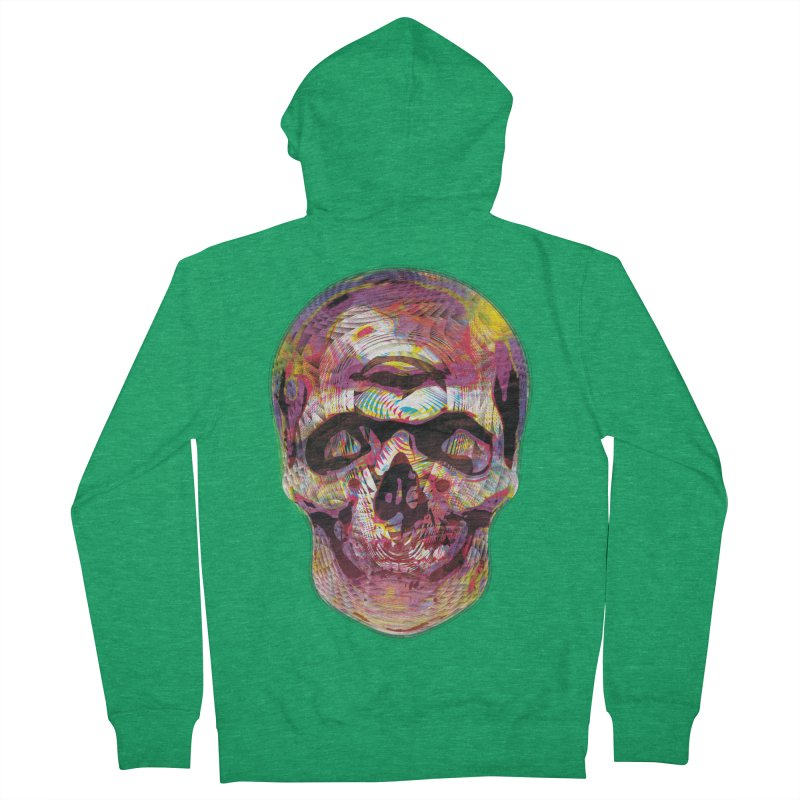 Sharped skull Women's Zip-Up Hoody by re3a's Artist Shop