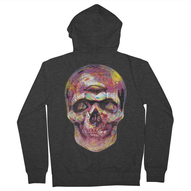 Sharped skull Women's Zip-Up Hoody by re3a's Artist Shop