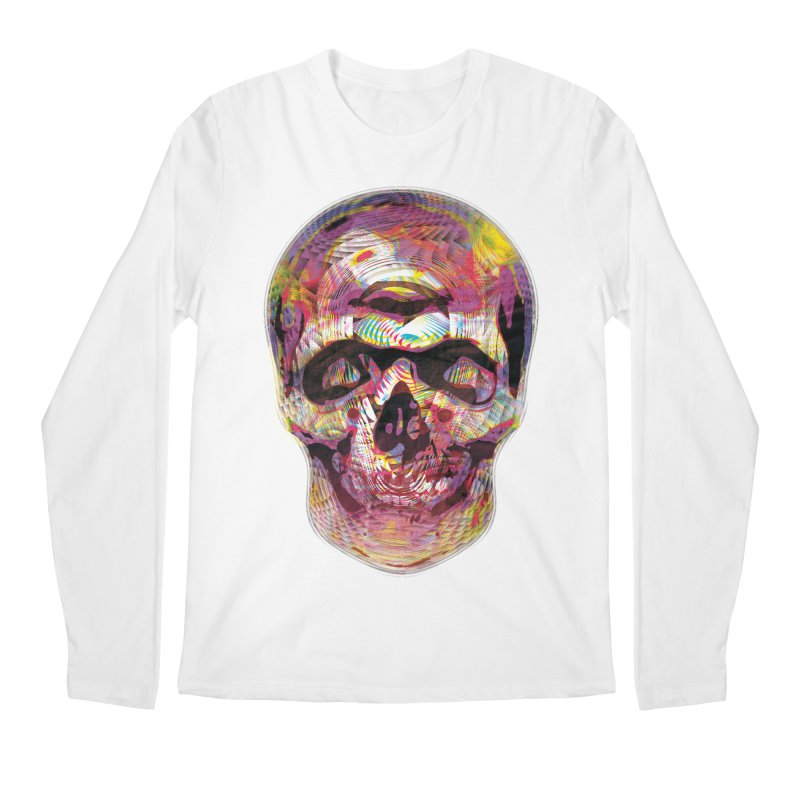 Sharped skull Men's Regular Longsleeve T-Shirt by re3a's Artist Shop